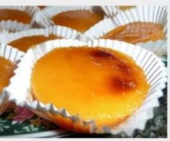 Docinhos molhados de papaia