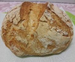 Pão caseiro, saboroso e sem glúten