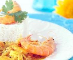 Caril de camarão