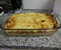 Frango com legumes e arroz gratinado + sopa (receita de demonstração)