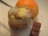 Iogurtes de chocolate com Curd de laranja