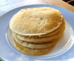 Panqueca doce macia (sem leite, sem ovos, vegan)