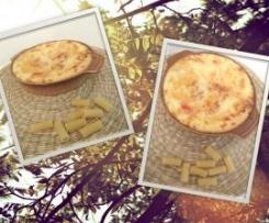 Macarrão com molho de queijo Ricotta