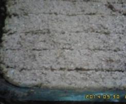 Barras de cereais de abricoque e de cerejas