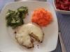 Hambúrgueres de Grão-de-Bico com caril