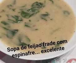 Variante Sopa de Feijão-Frade