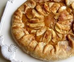 Tarte rústica de maçã
