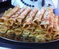 Crepes de Carne Picada (PIROGAS)