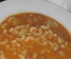 Sopa de feijão deliciosa( os miúdos adoram )