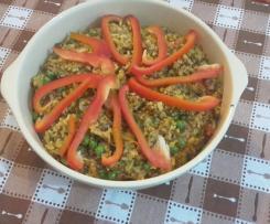 Paelha Vegetariana
