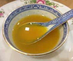 Caldo Doce, Mimos de pescada em cama de legumes com batata, ovo e legumes