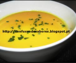 Creme de Cenoura & Cebolinho