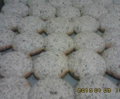 Bolinhos de amêndoas,nozes ernergéticas