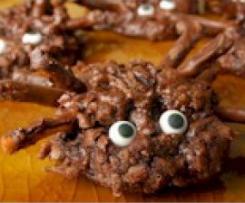 Aranhas de Chocolate