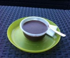 Sobremesa de Chocolate e Leite de Soja
