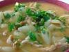Conchas com bifinhos de perú