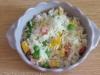 arroz primavera (arroz chau-chau, arroz chao-chao ou, ainda, arroz xau-xau)