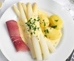 Espargos com batatas