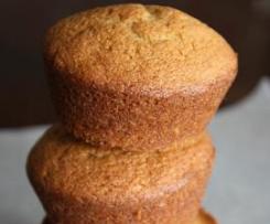 Muffins de Pêra e Cardamomo