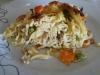 Tarte de esparguete