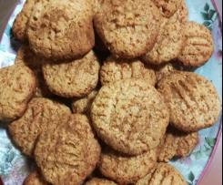 Biscoitos de amêndoa e laranja