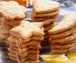 Biscoitos de Laranja e Mel