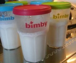 Iogurtes líquidos de côco