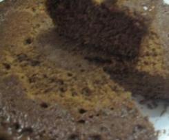 bolo humido de chocolate e coco