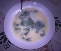 Sopa de nabiça com massa