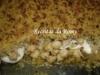 Bacalhau no forno com grão e crosta de broa