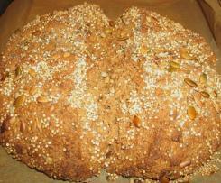 Pão de trigo 100% integral