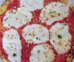 Piza com base de curgete
