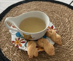 Biscoitos de laranja e erva doce