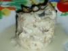 Filetes de linguado com vinho branco e cogumelos