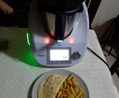 Omelete de Camarão e Delicias do Mar