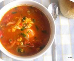 Sopa de Tomate (Dieta)