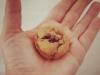 Mini Muffins de Banana e Manteiga de Amendoim