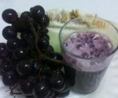 Nectar de melão com uva