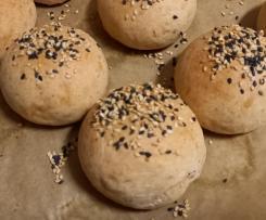 Pão de hambúrguer - Massa Mãe