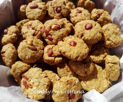 Cookies de Amendoim