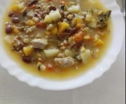 Sopa de trigo (típica madeirense)