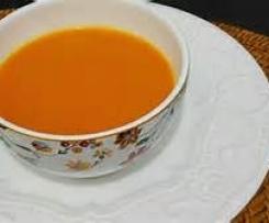sopa creme de cenoura