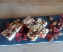 Barritas cruas de sementes (Dieta Alcalina)