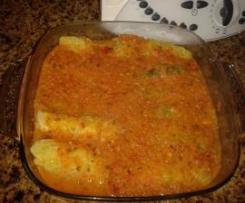 Rolinhos de couve com queijo e fiambre