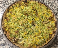 QUICHE Integral DE Frango