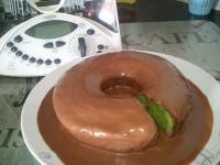 bolo de espinafres e chocolate de leite