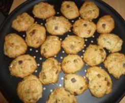 Choco muesli cookies