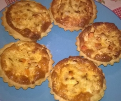 Mini Quiche de frango