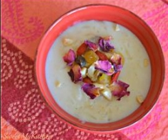 Kheer - arroz doce indiano